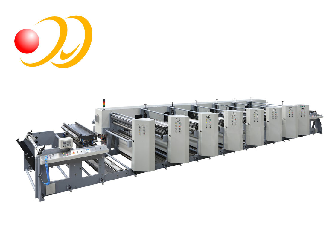 Unit - Type Flexo Printing Machine With Die Cutting And Slitting