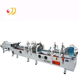 Crash Lock Bottom Folder Gluer Machine With Remote Control Airplanes 0-220m / min